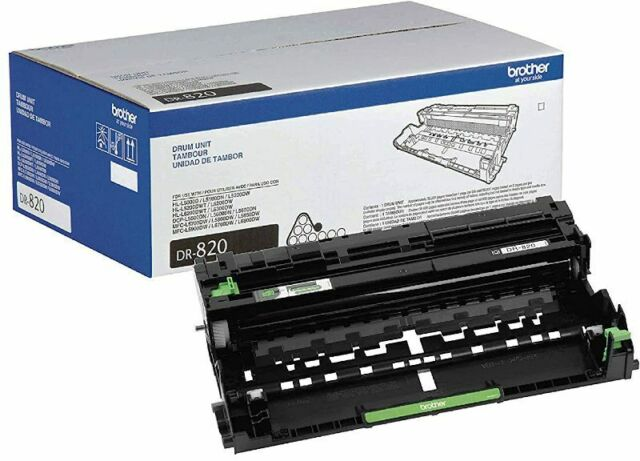 Brother Genuine Drum Unit, DR820, Seamless Integration Yields Up to 30,000 Pages