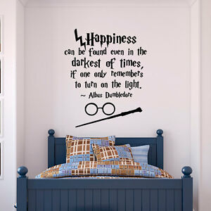 Wall-Stickers-Harry-Potter-Happiness-Can-Be-Found-even-vinyl-decal-decor-Nursery