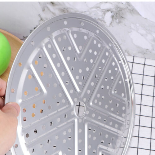 Steamer Rack Stainless Steel Kitchen Round Food Tray Cooker Steaming Stand