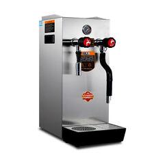 220v Automatic Espresso Coffee Milk Foam Machine Steam Water Boiling Machine