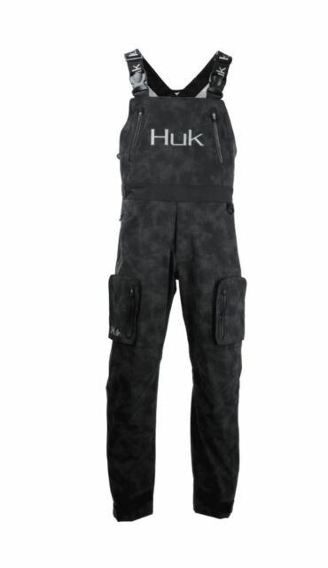 Save 45/% HUK Leviathan Reflective Fishing Bib Pant Pick Size//Color-Free Ship
