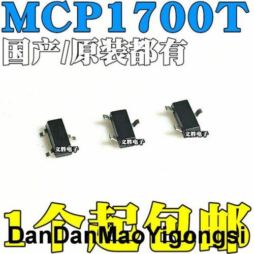 50PC    The new MCP1700 MCP1700T-3302ETT patch SOT233.3V