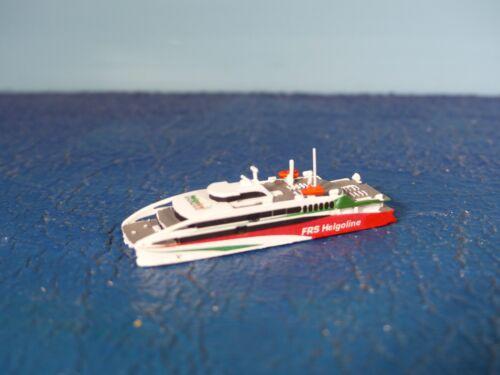 "Fährschiff /"" HALUNDER JET /""  Rhe Jun 267 OVP Rhenania Junior Schiff 1:1250 D"
