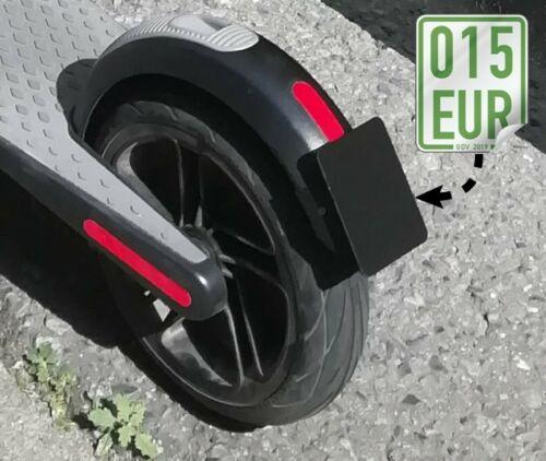 Ninebot ES1//ES2//ES4 Number Plate License Plate