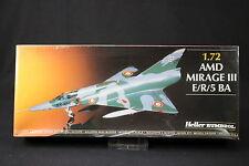 YQ018 HELLER 1/72 maquette avion 80323 AMD Mirage III E/R/5 BA