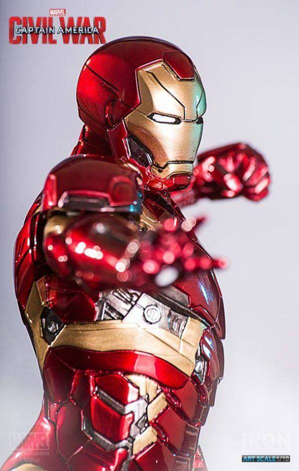 Iron Man Mark 46 XLVI Civil War -  Art Scale1/10 - Iron Studios on eBay thumbnail