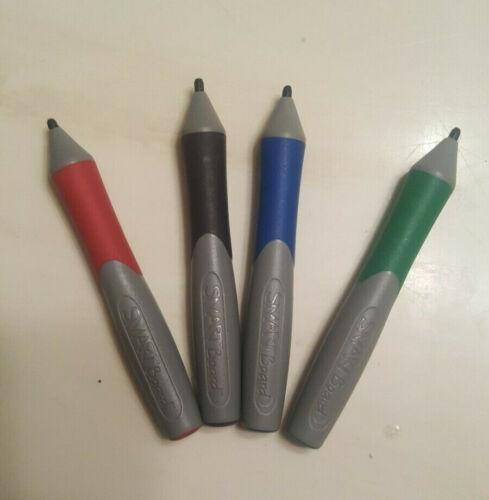 4 Original SmartBoard Stylus Marker Pens Red, Green, Blue, Black SET