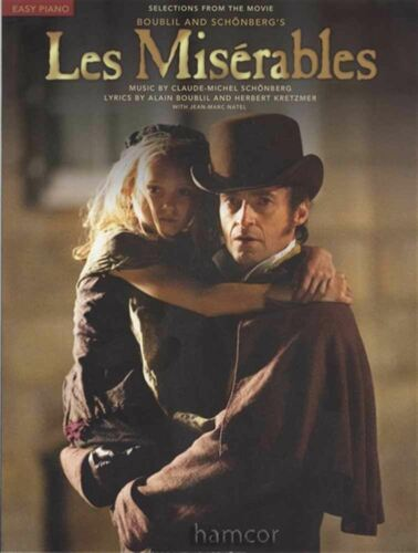 Les Miserables Selections from the Movie Film Easy Piano Sheet Music Book
