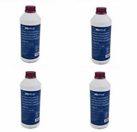 4-bottles Engine Coolant Antifreeze Purple Pp-g12+ G012a8f Fits Audi Volkswagen on Sale