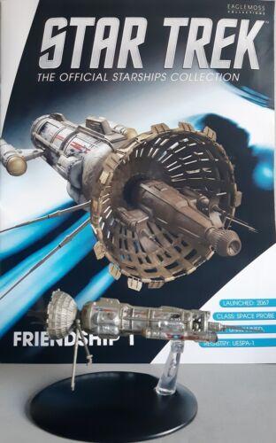 Star TREK Eaglemoss Friendship 1 sonda speciale modello 23 EAGLEMOSS Engl rivista