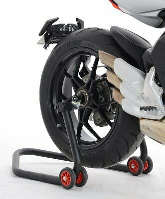 R/&G Racing Rear Wheel Spindle Sliders Protectors to fit MV Agusta F4 1000