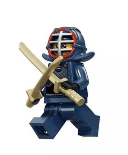 Lego Series 15 Minifigure 71011 Kendo Fighter New And Sealed