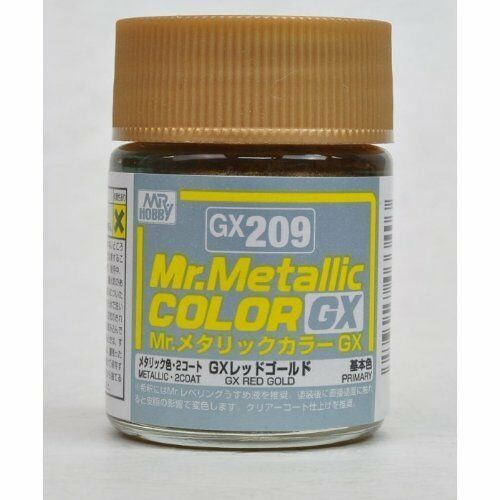 Mr.Hobby Paint GX209 GX Metal Red Gold