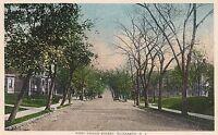 West Grand Street in Elizabeth NJ Postcard