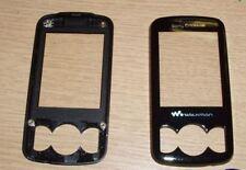 Genuino, originale Sony Ericsson Spiro W100 FASCIA Anteriore Coperchio Alloggiamento Nero