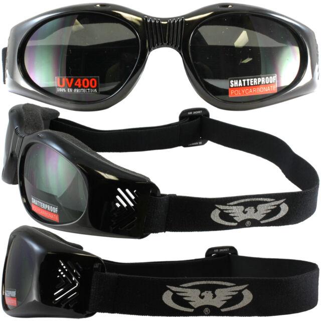 Goggles Global Vision AIR JACKET Smoked Lens UV400 Foam