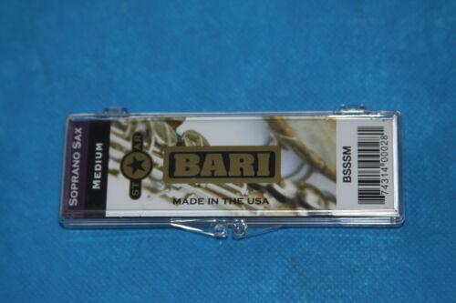 Bari Woodwinds Star Series Synthetic Soprano Sax Reed,Medium Hard,3.5-4.0,BSSSMH