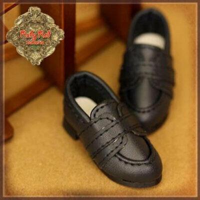 """DOLL Shoes Effner 30mm WHITE Plain Slip-ons Custom for 8/"""" Heartstring"""