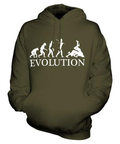 Wrestling evolution of man Unisexe Sweat À Capuche Hommes Femmes Mesdames Cadeau Vêtements