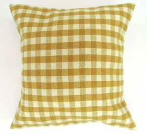 Cushion cover in a colourful check fabric