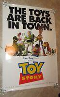 Toy Story Movie Poster Disney Original Movie Poster (b) Tom Hanks, Tim Allen