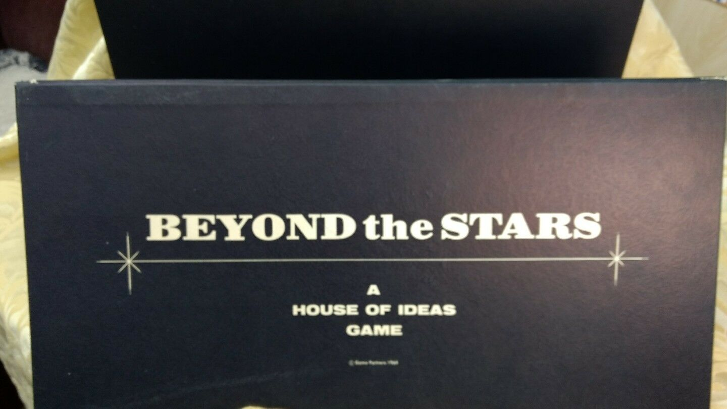 Beyond the Stars a Game of Space Space Space Adventure House of Ideas Game 8c54a9