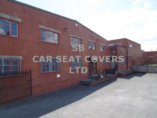 SWB SEAT COVERS BLACK DIAMOND TO FIT A TOYOTA HIACE VAN MADE TO MEASURE