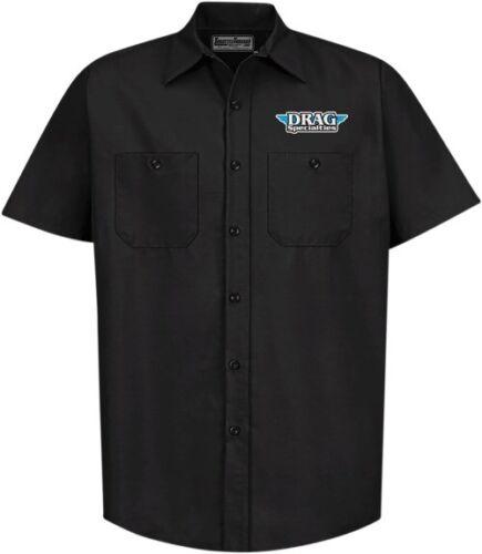 Throttle Threads Drag Specialties Short-Sleeve Shop Shirt T-Shirt Motorcycle