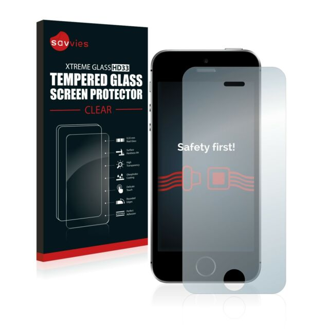 Apple iPhone SE Glas Panzerfolie 9H Schutzpanzer Glasfolie Displayschutzfolie