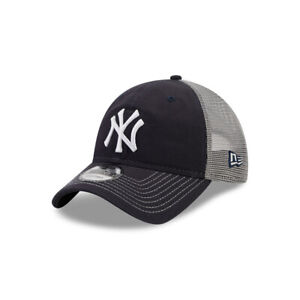New Era MLB New York Yankees Tonal Team Frontier Trucker Snapback Baseball Hat