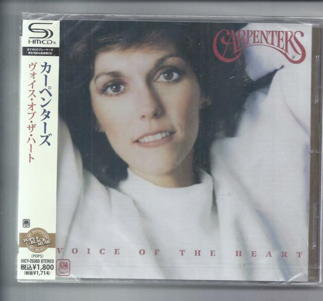 Carpenter Voice of the Heart Japon CD Jewelcase SHM CD UICY - 25303 SEALED NEW