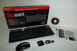 GIGAWARE WIRELESS KEYBOARD MOUSE COMBO WINDOWS VISTA DRIVER