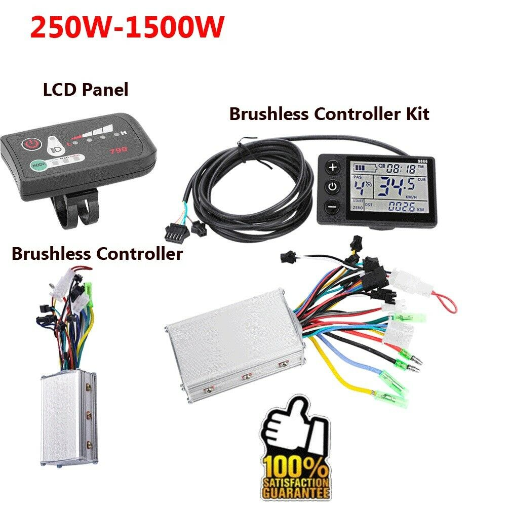 250W-1500W Electric Brushless Motor Controller for E-bike Bike Bicycle Scooter