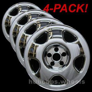 honda accord    crv   chrome wheel skins  set   ebay