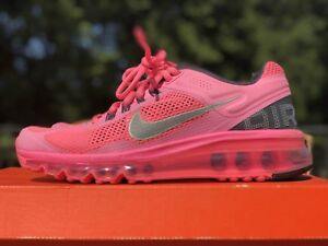 buy popular e5f1e 53986 Image is loading NIKE-AIR-MAX-POLARIZED-PINK-REFLECTIVE-SILVER-Women-