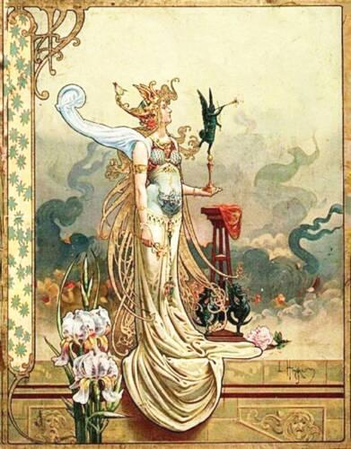 Lady Angel Louis Théophile Hingre