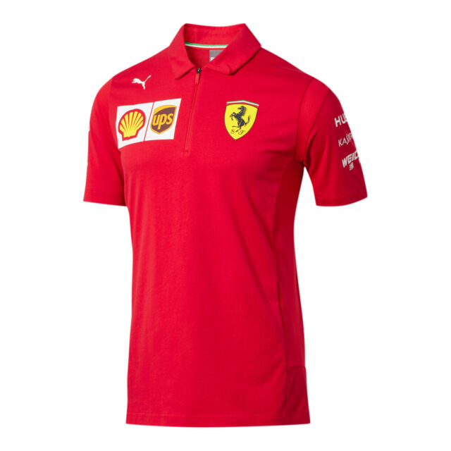 PUMA Scuderia Ferrari Team Polo Men Polo Auto