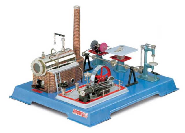 Dampfmaschinen Wilesco Dampfmaschinenwerkstatt D161