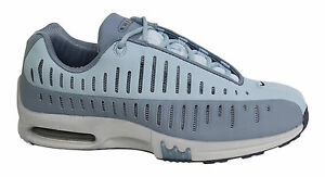 Nike Air Max Motion Womens Lace Up Grey Blue Trainers 305492 041 P6