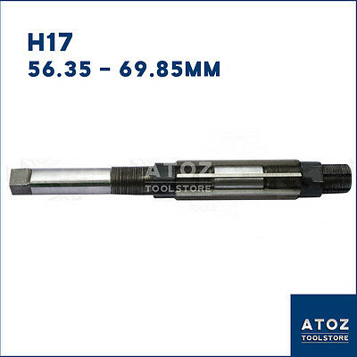 """2.7//32/"""" New 5 Pieces Set ADJUSTABLE HAND REAMER H12 to H16  Capacity 1.1//16/"""""""