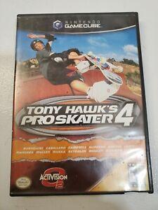 Nintendo Game Cube Tony Hawk Pro Skater 4 Video Game Case Manual