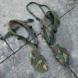 UK BRITISH ARMY SURPLUS ISSUE DPM PLCE PISTOL SHOULDER HOLSTER WEBBING POUCH,SAS