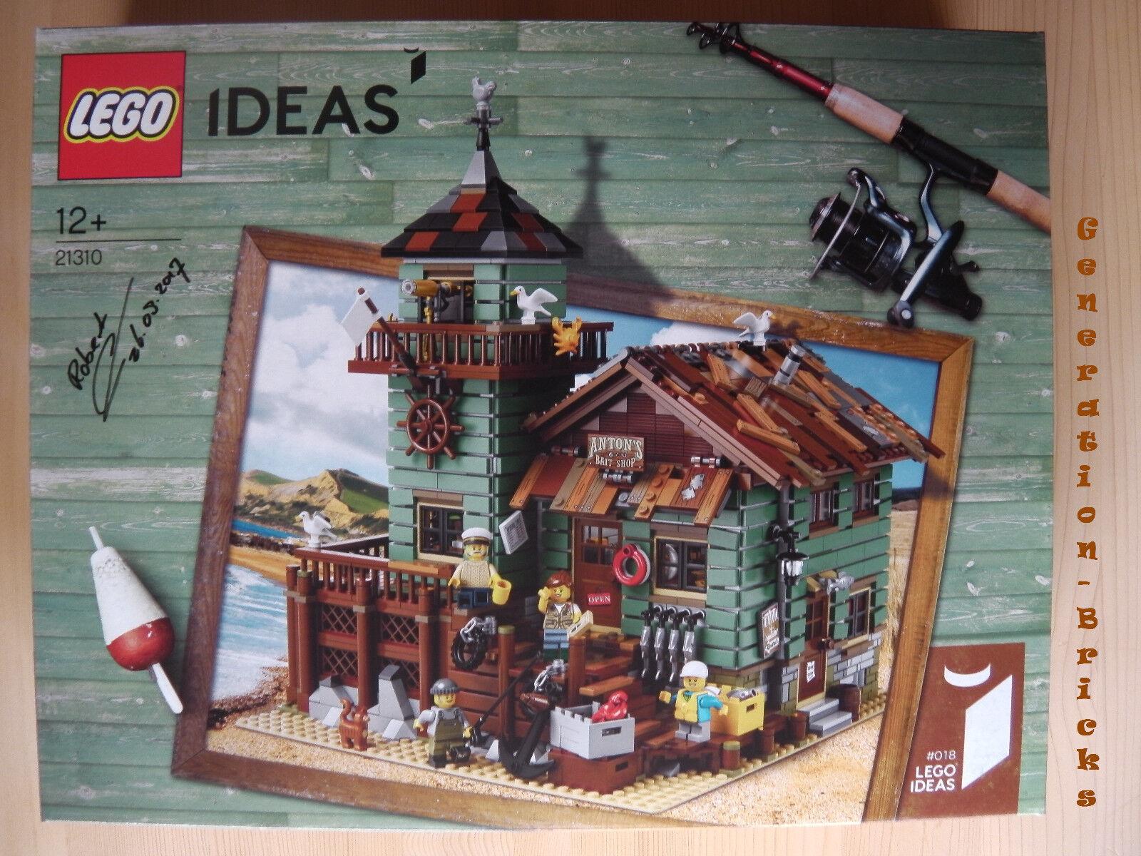 LEGO® Ideas 21310 Alter Angelladen handsigniert von Robert Bontenbal NEU & OVP