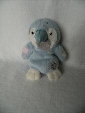 """Plush Soft Toy -  My Blue Nose Friends - 4.5"""" Melody Parrot - No.42"""