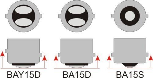 LED 1W 12V White Omni Bulb Miniature 1157 BA15D 7 x 5050 SMD