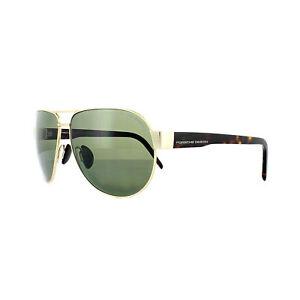 be603f53c91 Image is loading Porsche-Design-Sunglasses-P8632-B-V401-Gold-Green-