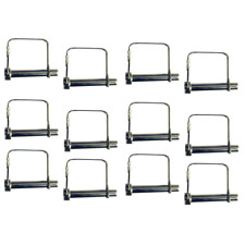 Heavy Duty Steel Scaffolding Pin Set 12 Pieces Durable Weather Resistant