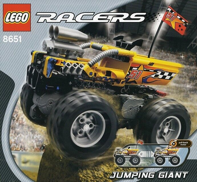 NEW Lego Racers 8651 Jumping Giant SEALED - Power Racers