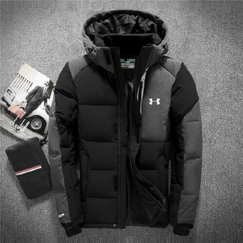 NEW Men/'s Winter Warm Hooded Coat Parka Thick Duck Down Jacket