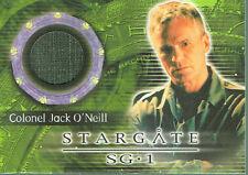 STARGATE SEASON SEVEN COSTUME CARD C22 COLONEL JACK O'NEILL